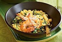 Rice is Nicer with Protein / Rice dishes with added meat, seafood, or poultry