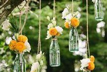 DIY wedding / DIY weding: craft, ideas, decoration, bridal dress, accessories...