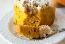 It's the Great Pumpkin / Pumpkin cakes, cookies and desserts