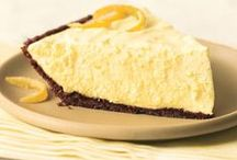Lemon and Lime Pies and Cheesecakes / lemon pies and lemon/lime cheesecake recipes