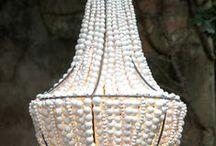 Beaded chandaliers / Hand made beaded chandalier