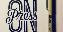 Typo / Typographie & lettering