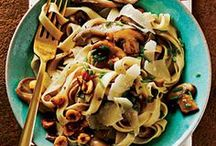 Pasta with Mushrooms