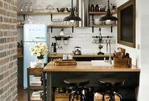 Cuisine / Kitchen / Toutes les inspirations pour la cuisine #kitchen #tools #cuisine #décoration #aménagements