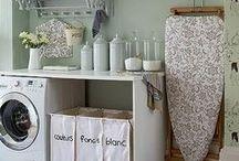 Buanderie / Laudryroom / Toutes les inspirations pour la buanderie #laundry #laundyroom #clothes #buanderie #lessive #lessives