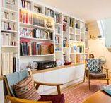 Bibliothèque / Library / Toutes les inspirations de décoration et d'aménagement de bibliothèque #livres #lecture #littérature #histoires #book #books #literature #library #shelf #shelves
