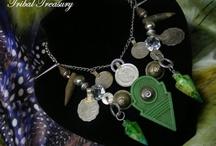 Necklaces / Unique, manufactured jewelry from Tribal Treasury. www.facebook.com/GigisTribalBazar www.etsy.com/shop/TribalTreasury www.facebook.com/tribal-treasury