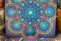 dots and rocks