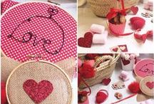 Be My Valentine: Hearts&Love / by Ovillos de papel