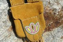 Purses, Pouches and Bags / These purses, pouches and bags are all made in Canada. You'll find buffalo-hide bags, beaded pouches by First Nations artisans and more - all with unique Canadian style!