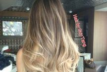 Balayage is the New Ombre / Balayage Inspiration. Balayage is a French hair highlighting technique. It's a freehand technique where the hair color is applied by hand sweeping for a more natural effect, almost like a paintbrush on a canvas.