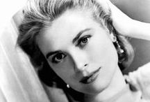Grace Kelly / The beautiful movie star and Princess Grace Kelly