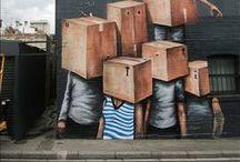 Street art / by Urban Art Berlin | Wandtattoo Vinylart