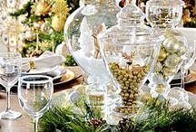 Christmas Centerpieces / Lots of ideas to realize cheap but amazing Christmas centerpieces. For DIY lovers.