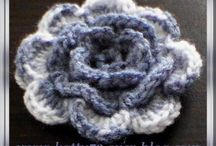 Tricot/crocher fleurs
