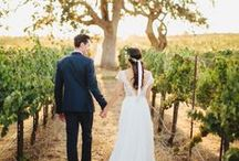 Vineyard Wedding Ideas / Inspired Decorating Ideas for winery and vineyard weddings, wine parties or wine themed bridal showers. Mallorca, Spain.