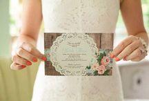 Wedding stationery inspiration / stationery