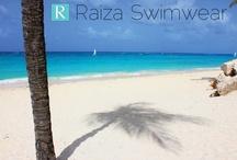 World locations that inspire Raiza Swimwear  / Raiza Swimwear garments are inspired by our Designer's worldly travels.