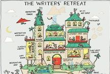 Writers Retreat / These are some of the writers (journalists, novelists, essayists, poets...) who've been to our writers retreat here in the south of France. Or, writers retreats (sheds, cabins etc.) of other writers from around the world...