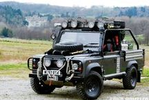Land Rovers we love! / Land Rover's that we appreciate and enjoy from the internet and Pinterest!