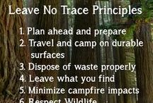 Camping and Outdoors / Leave No Trace, Camping Kits, Camping Essentials, Backpacking Tips