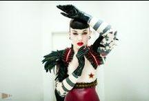 Lacucaracha Latex Fashion - One Of A Kind / Unique costumes by Lacucaracha www.lacucaracha-fashion.com