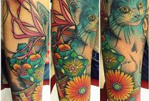 Cat Tattoos / Tattoos of/dedicated to cats!
