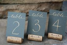 Wedding | Table numbers