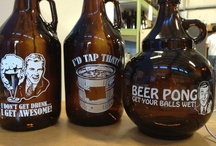 Growlers / Customized beer growlers / by personalwinebottles.com