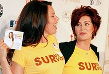 Celebrity Survivors / Numerous celebrities have battled cancer.  Additionally, many of them have bravely shared their stories with us and we want to recognize them for their efforts.