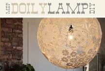 Luminaires / De jolis luminaires, des DIY et des idées...