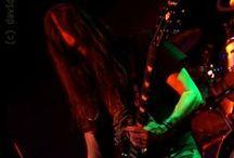 Threefold Law - Live / Live photographs of J.'s band, Threefold Law.