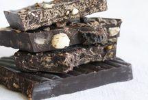 Dark chocolate & coffee & more lovely food