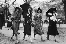 Vintage fashion fabulous / Pins from days gone by