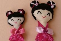 Kokeshi a jiné panenky/Kokeshi and other dolls