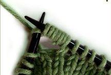 dziewiarstwo ręczne - też lubię... / to i owo na druty (czasami - choć raczej rzadko - również na szydełko) :)