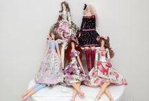 Hand made doll / Panenky / Hand made dolls inspire /Ručně šité panenky pro inspiraci