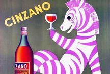 Affiches vintage boissons / Alcools ou soft / by Nancy Grynszpan