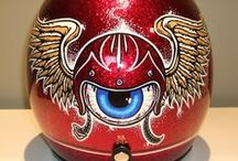 Pinstriping, Art and Brainbuckets / by Tammy Sweetnlow-Miller