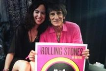 The Rolling Stones: Tour Merch / My designs for the The Rolling Stones' Zipcode and 14 On Fire Tours.