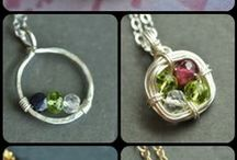Wire Work Jewellery / Beautiful jewellery created with wire and beads!