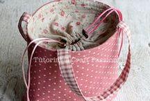 Tašky, kabelky/Bags,purse / návody, inspirace