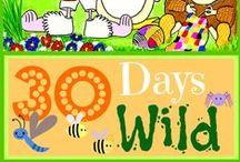 30 Days Wild Illustrations / Wildlife Trust 30 Days Wild Challenge Illustrations by Marie Law
