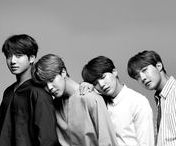 bangtan sonyeondan / Mostly memes, but also some hot damn pics of them.