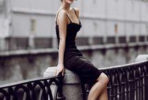 Dress ( black)