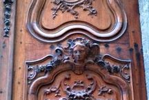 Carved Doors and Mantels / Follow my Board  :)  :) / by Mike Kloos