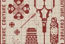Brodeuse-embroiderer-Couturière-dressmaker-point de croix-cross stich / mes créations sur Blog : http://broderiemimie44.canalblog.com/ point de croix - cross stitch - broderie - embroidery