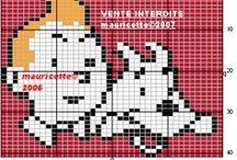 Héros-cartoon-BD- Point de croix-Point de croix-cross stitch / mes créations sur Blog : http://broderiemimie44.canalblog.com/ point de croix - cross stitch - broderie - embroidery