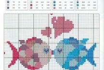 Amour-Love-Coeur-heart-point de croix-cross stitch / mes créations sur Blog : http://broderiemimie44.canalblog.com/ point de croix - cross stitch - broderie - embroidery