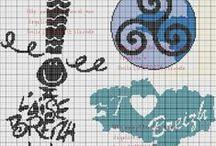 Bretagne - Breizh - Point de croix-cross stitch / mes créations sur Blog : http://broderiemimie44.canalblog.com/ point de croix - cross stitch - broderie - embroidery